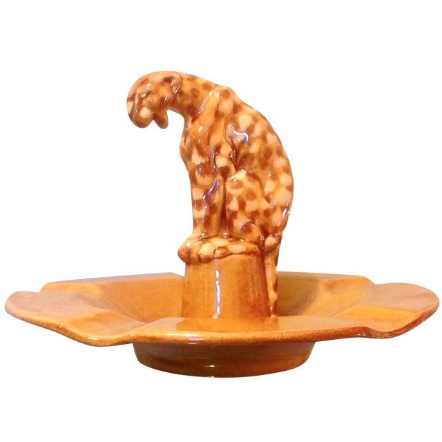 Mid Century Leopard Dish - Image 1 of 5