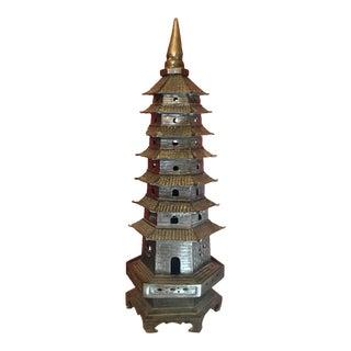 Japanese Brass Pagoda