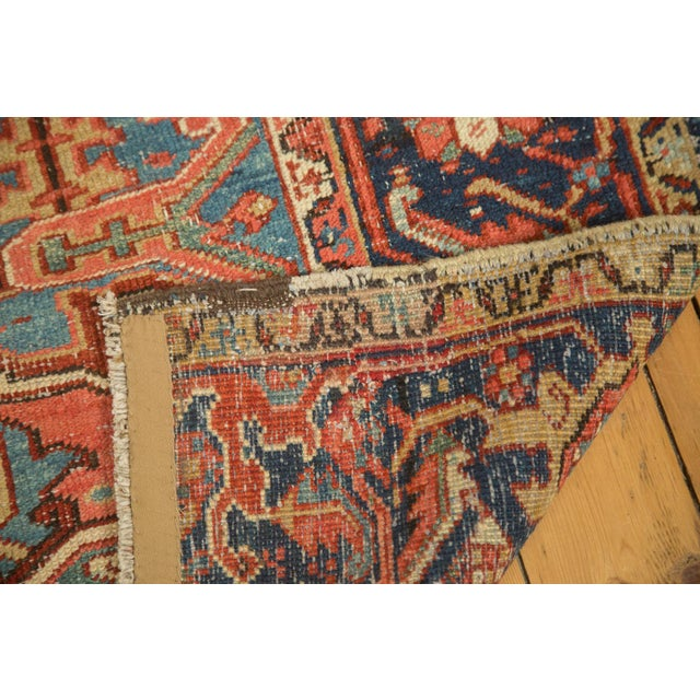"Antique Heriz Carpet - 8'5"" X 11'3"" - Image 3 of 7"