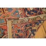 "Image of Antique Heriz Carpet - 8'5"" X 11'3"""