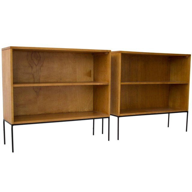 Paul McCobb Planner Group Bookcases - a Pair - Image 2 of 6