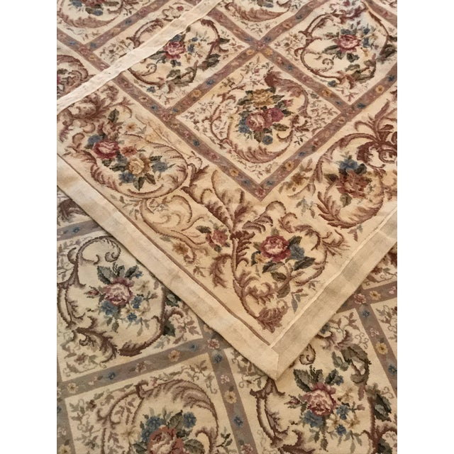 French Aubusson Needlepoint Rug - 8′6″ × 11′6″ - Image 5 of 11