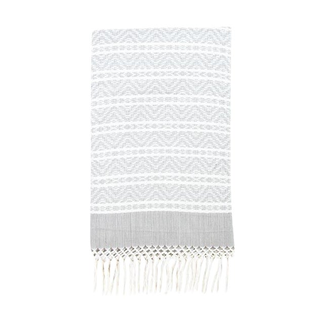 Image of Chiapas Gray Handwoven Throw