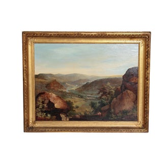 A LARGE LANDSCAPE BY WILLIAM GILL