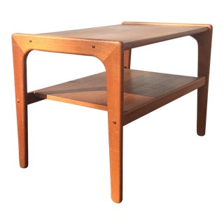 Salin Danish Solid Teak End Table
