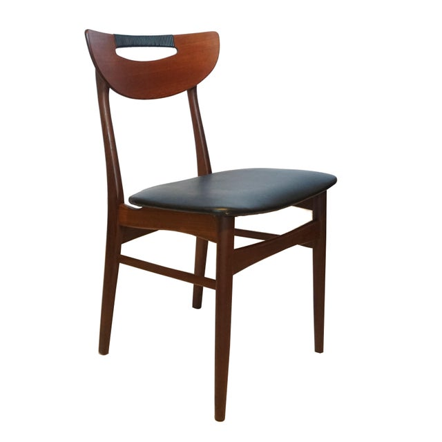Mid-Century Modern Teak Dining Chairs - Set of 6 - Image 3 of 6