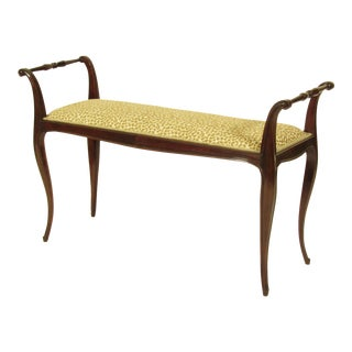 19th C. French Rococo Bench