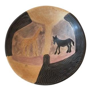 Handmade African Ceramic Bowl