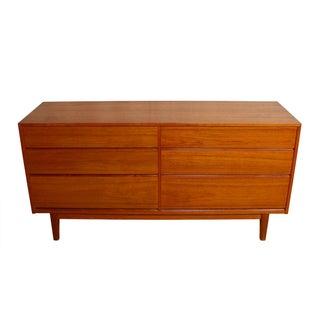 Compact Danish Modern Teak Dresser