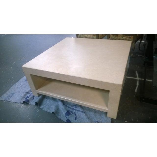 Image of Kreiss Caravelle Travertine Marble Table