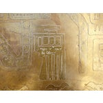 Image of Italian Acid Etched Brass Coffee Table
