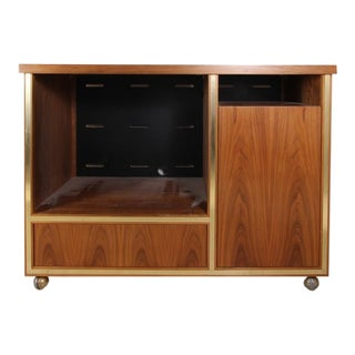 Mid-Century Modern Entertainment Center