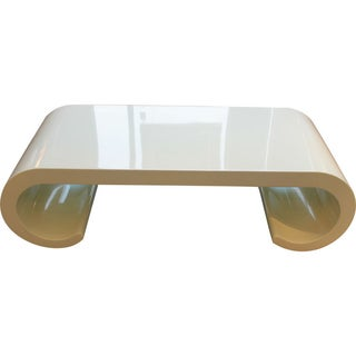 Soft Yellow Coffee Table