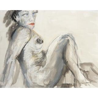 "Martha Holden ""Blue Eyes"" Original Drawing"