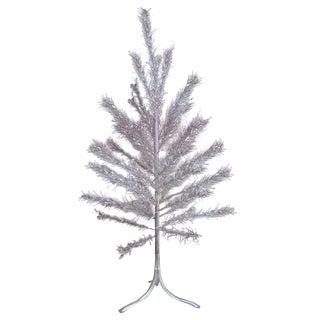 Aluminum Christmas Tree with Box Sleeves - 4'