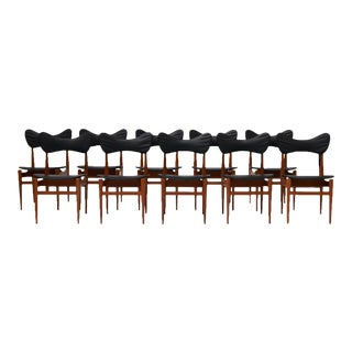 "A set of 10 ""Butterfly"" chairs by Inge & Luciano Rubino"