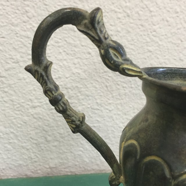 Image of Vintage Vase With Bird Head Handles