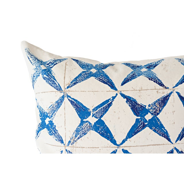 Blue Star Throw Pillow - Image 2 of 4