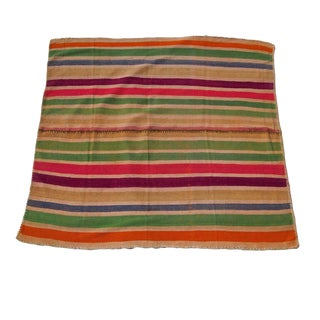 Peruvian Wool Frazada Throw
