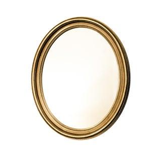 Vintage Gold Oval Mirror