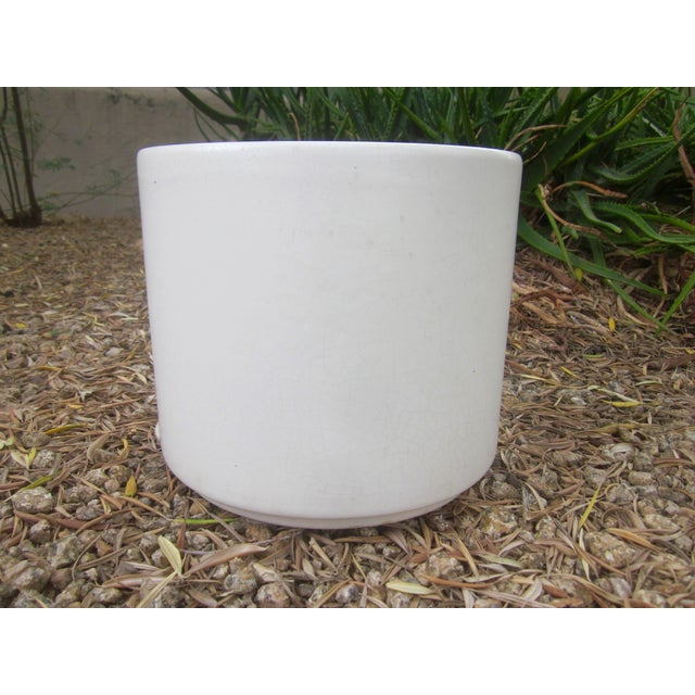 Gainey Architectural Modern Pottery Planter Pot - Image 2 of 6