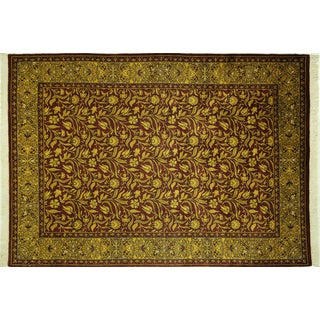 "Suzani Collection Oushak Floral Rug - 6'2"" x 8'10"""