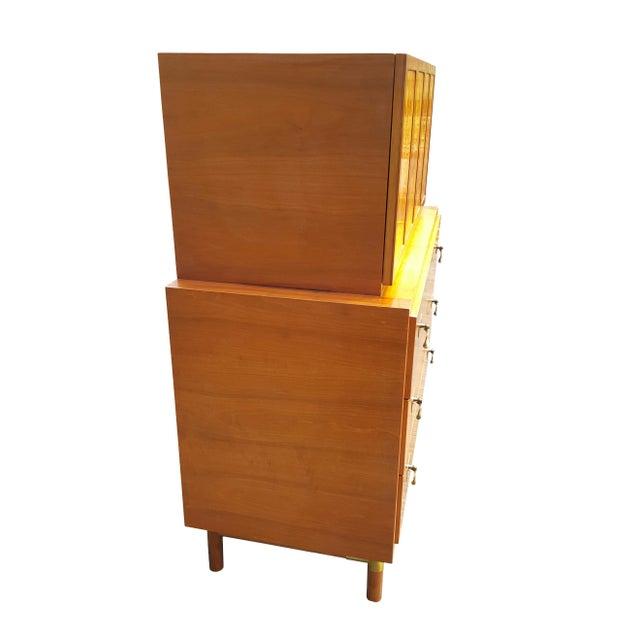 1960's Red Lion Mid-Century Modern Dresser - Image 8 of 10