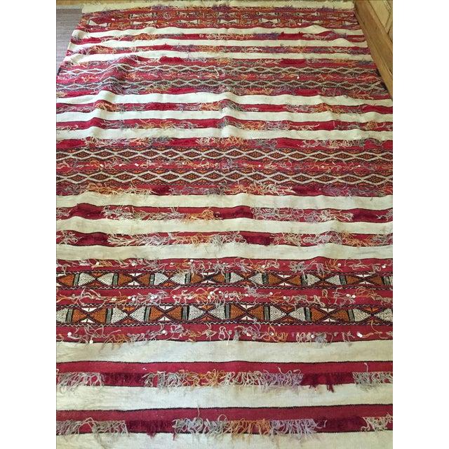 """Maroc Tribal Rug: Tribal Moroccan Wedding Rug - 5'7"""" X 8'2"""""""