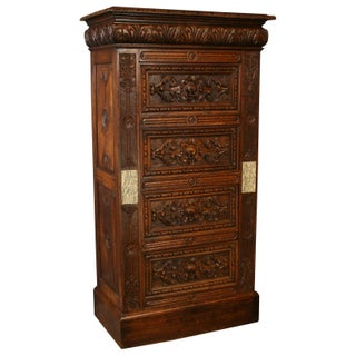 Antique French Renaissance-Style Chest of Drawers