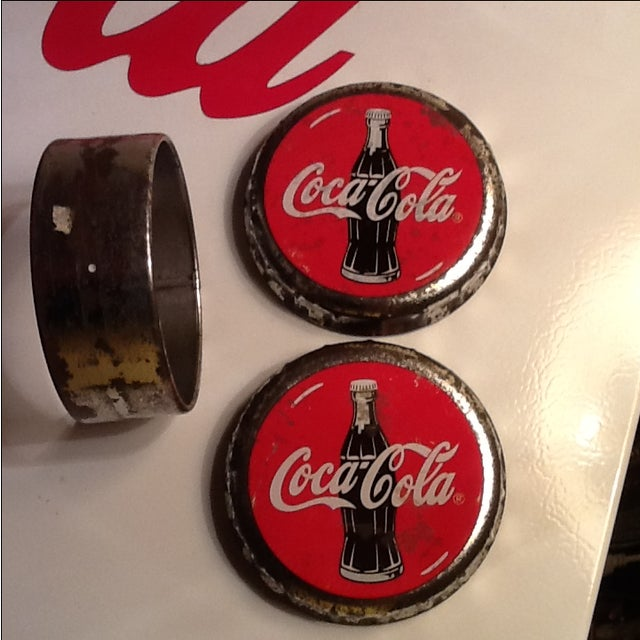 Vintage Coca Cola Cap Tin - Image 3 of 10