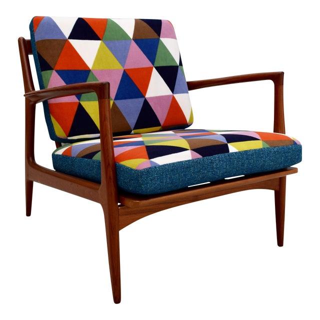 Vintage Danish Mid-Century Teak Lounge Chair - Image 1 of 10