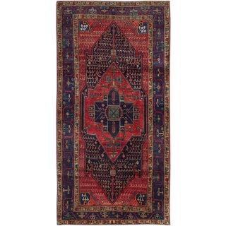 """Vintage Persian Nahavand Rug- 4'3"""" x 8'6"""""""