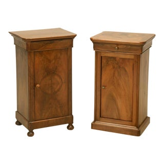 French Antique Louis Philippe Style Nightstand
