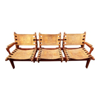 Angel I. Pazmino Three Seat Sofa
