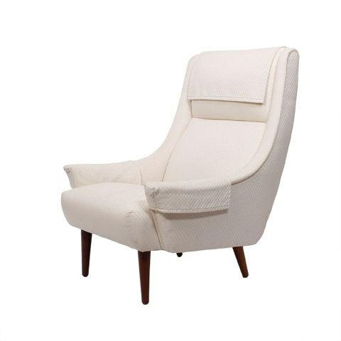 Danish Lounge Chair by Selig - Image 1 of 7