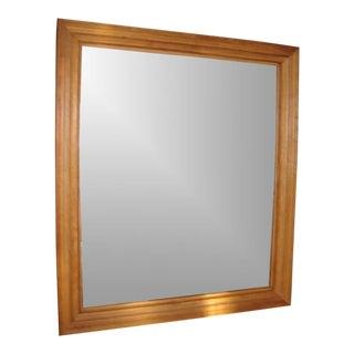 HUGE Cherry Moulding Mirror