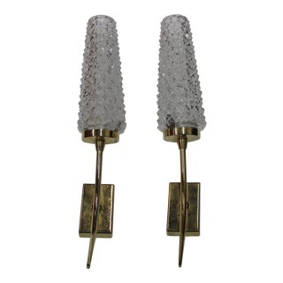 Circa 1950s Maison Arlus Vintage French Sconces - A Pair