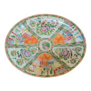 Antique Rose Medallion Platter