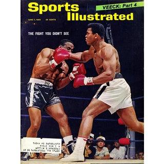 Vintage 1960's Muhammad Ali Sports Illustrated