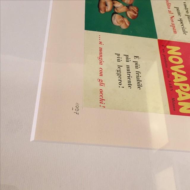 1957 Italian Novapan Advertising Print - Image 2 of 4