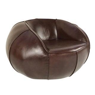 Forsyth Leather Club Chair