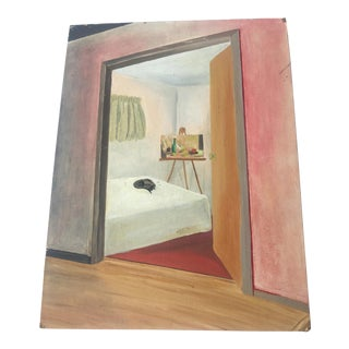 1965 My Bedroom Painting by Kathryn