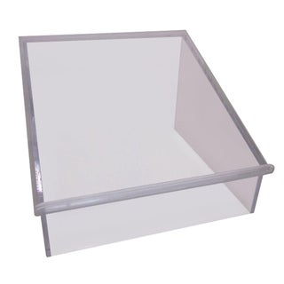 Thick Lucite Lectern Display Stand