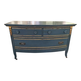 Gustavian République Style Painted Chest of Drawers