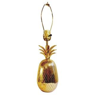 Brass Pineapple Lamp