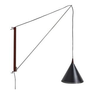 Willem Hagoort Arc Wall Lamp, 1950