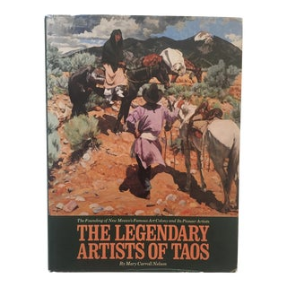 "Vintage ""The Legendary Artists of Taos"" 1st Edition Book"
