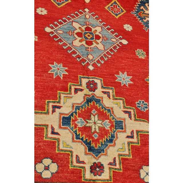 Pakistani Kazak Rug - 7′5″ × 9′ - Image 4 of 6