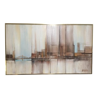 Lee Reynolds Cityscape Painting