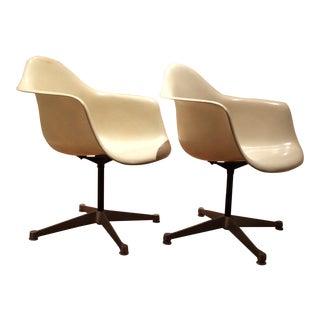 Herman Miller Eames Fiberglass Chairs - A Pair